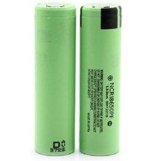 Toko Panasonic 18650 Li Ion High Drain Hybrid Imr Battery 2900Mah 3 6V With Flat Top Ncr18650Pf Green Online Terpercaya