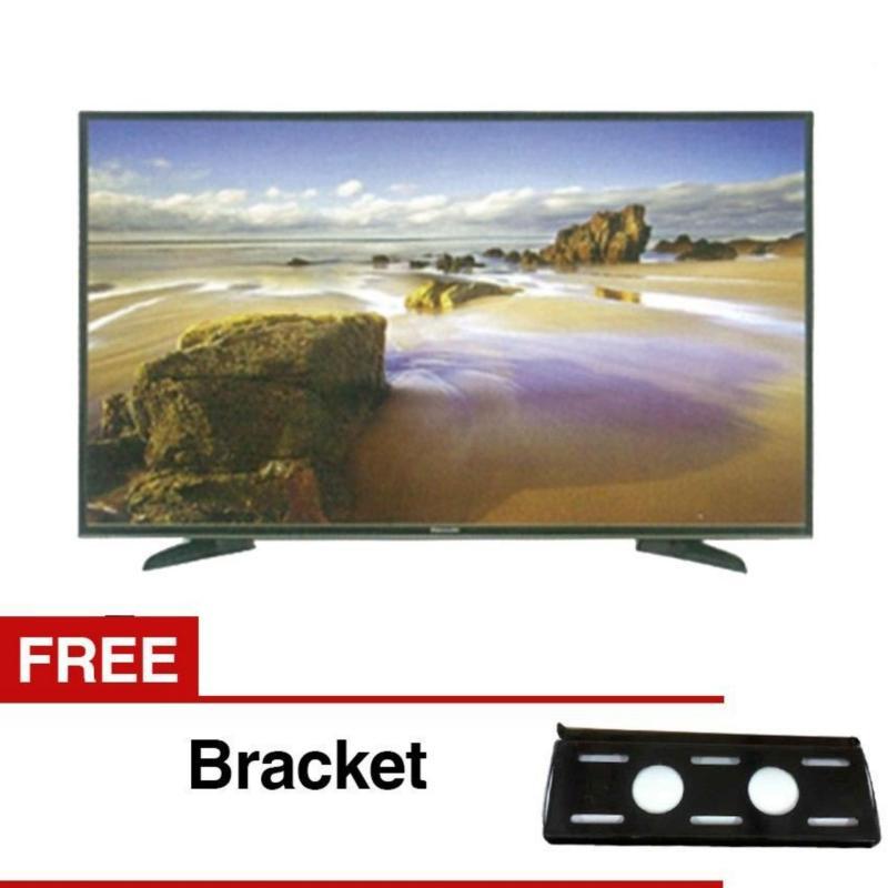 Panasonic 32 LED HD TV - Hitam Model TH-32E305 (Free Braket) Khusus JADETABEK