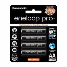 Spesifikasi Panasonic Aa Eneloop Pro Baterai 2550 Mah 4Pcs Bagus