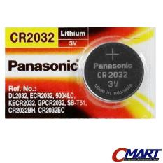 Panasonic Cr2032 3 Volt Coin Lithium Cell Baterai Battery - Psc-Cr2032 By Cmart Computer.
