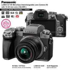 Panasonic Dmc G7K Silver Kamera Mirrorless G7 Wifi 4K 16Mp Lumix G Vario 14 42Mm F3 5 5 6 Ii Asph Garansi Resmi Panasonic 1Th Panasonic Diskon 30