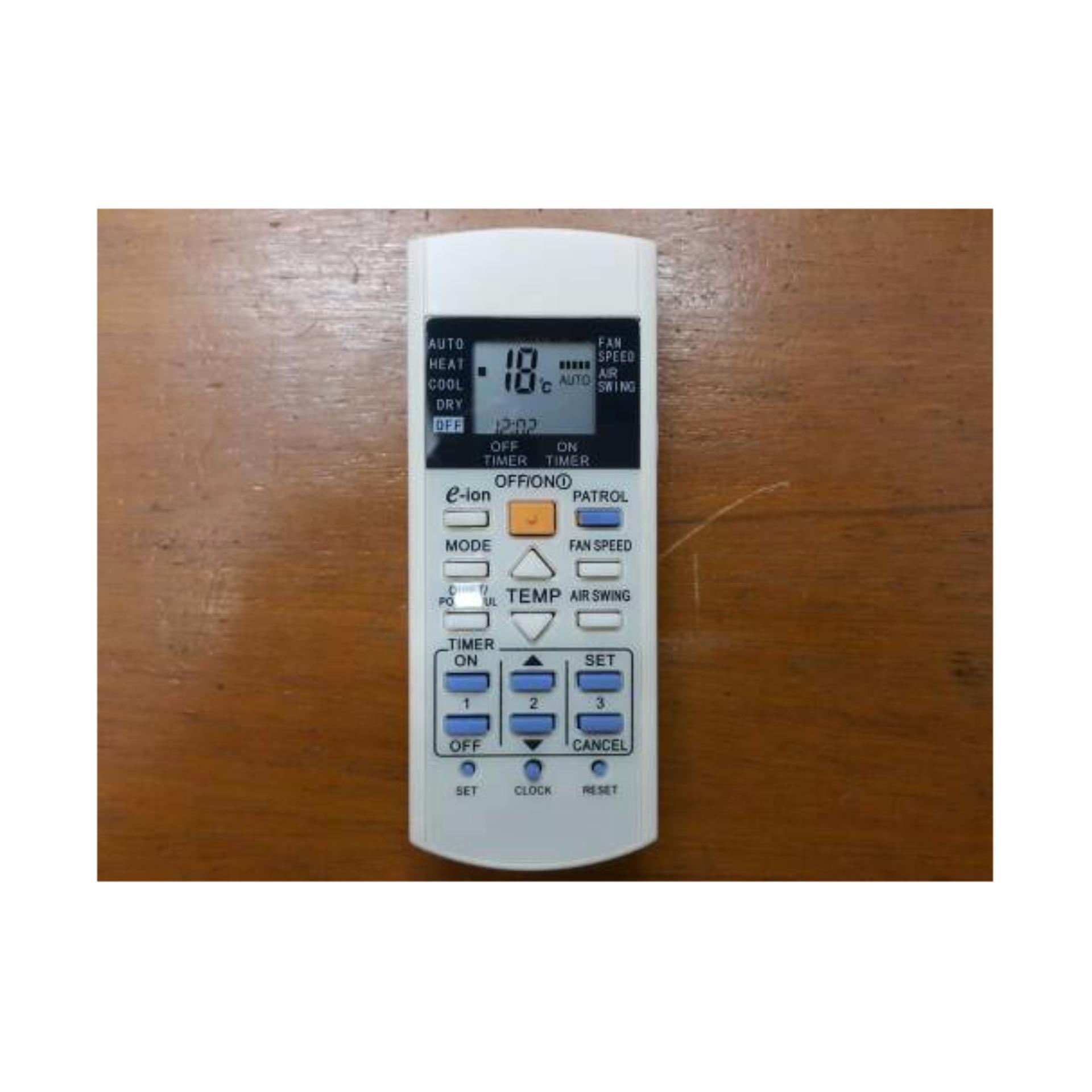 Panasonic Eion Patrol Remote Control AC - Putih