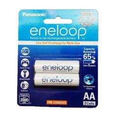 Promo Panasonic Eneloop Baterai Aa 2000Mah 2 Pcs Putih Akhir Tahun