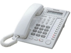 Panasonic Key Display Phone Telepon KX-T7730 - Putih