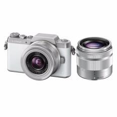 Panasonic Lumix DMC-GF7 Double 12-32mm & 35-100mm -16 MP - Putih FREE MEMORY 16GB