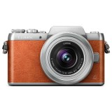 Beli Panasonic Lumix Dmc Gf8 Kit 12 32Mm Oranye Panasonic