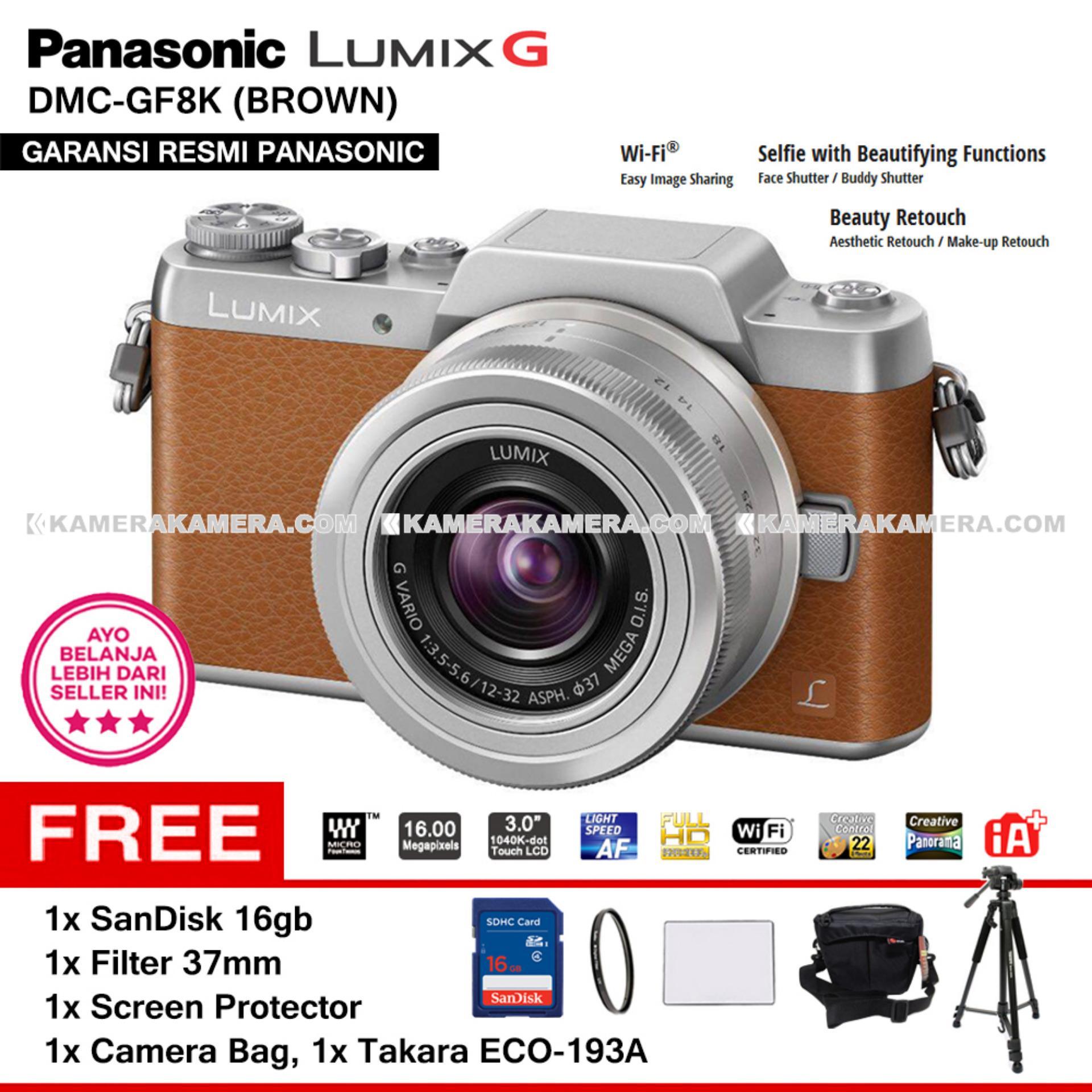 Pricelist Lumix Mirrorless Terbaru November 2018 Panasonic Gf9 Kit 12 32mm Pink 100 300mm F 4 56 Garansi Resmi Dmc Gf8k Brown With G Vario Wifi