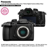 Jual Panasonic Lumix Dmc Gh5 Body Only Kamera Mirrorless Gh5 20 3 Mp 4K Wifi Bluetooth Resmi Free V Log L Firmware Update Grosir