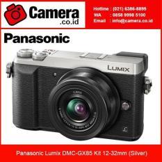 Panasonic Lumix DMC-GX85 Kit 12-32mm (Silver) Kamera Mirrorless