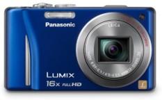 Panasonic Lumix DMC-ZS10 14.1 MP Digital Kamera dengan 16X Lebar Sudut Optik Stabilized Zoom dan Fungsi GPS Dibangun Di-Dalam (biru) -Internasional
