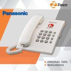 Panasonic Pesawat Telepon Cable - Single Line - KX TS505MX - White