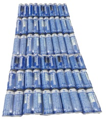 Panasonic R6UWC 1.5V AA 60Pcs Pack Battery Biru