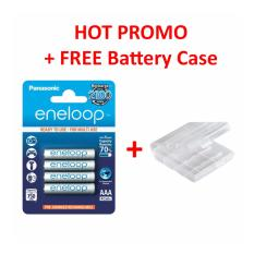 Harga Panasonic Rechargeable Battery Eneloop Aaa 950 Mah Free Battery Holder Panasonic Asli
