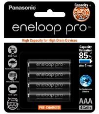 Harga Panasonic Rechargeable Battery Eneloop Pro Aaa 950 Mah Termurah