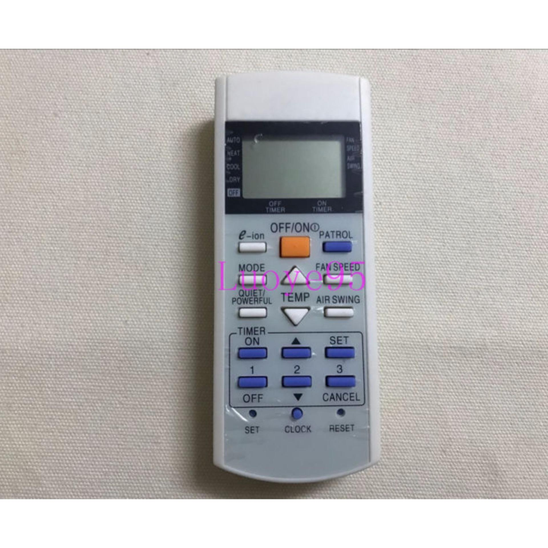 Panasonic Remote Control AC Original - Putih   e-ion Patrol