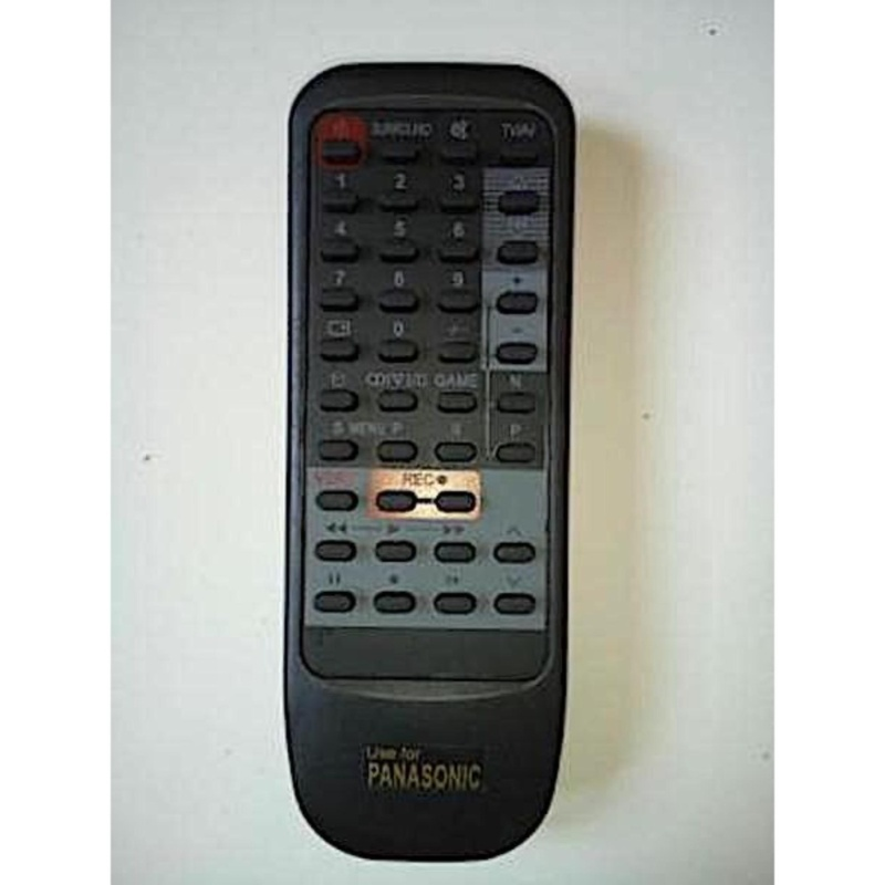 Panasonic Remote TV Tabung - Hitam