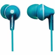 Panasonic RP-HJE125-Z Stereo Di Kanal Telinga Bud Headphone RPHJE125 Biru Muda-Internasional