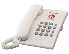 Panasonic Telephone Telepon KX-TS505W - Putih