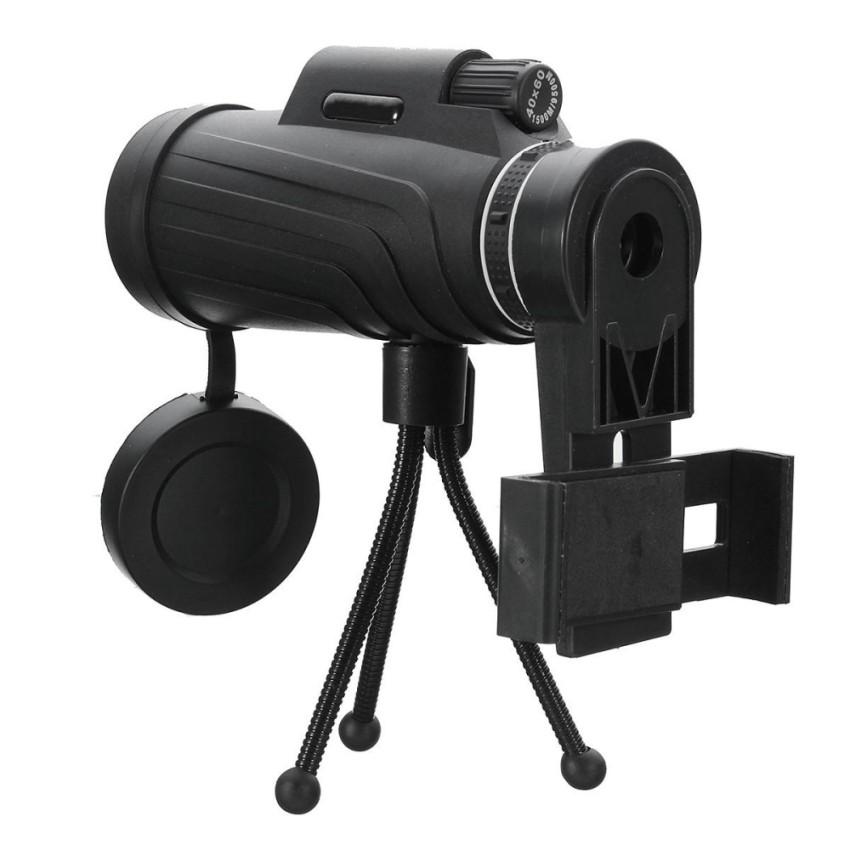Spesifikasi Panda 40X60 Hd Lensa Zoom Camping Travel Waterproof Monocular Telescope Tripod Klip Untuk Ponsel Intl Terbaru