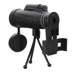 Review Terbaik Panda 40X60 Hd Lensa Zoom Camping Travel Waterproof Monocular Telescope Tripod Klip Untuk Ponsel Intl