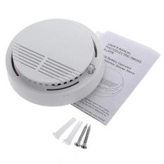 Panda Online Nirkabel Cordless Asap Detector Home Security Fire Alarm Sensor Baterai Sistem-Intl