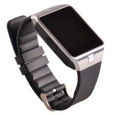 Pandaoo Dz09 Selai Pintar Melambat Perhiasan Jam Tangan Selai Pintar Tes Bluetooth Cerdas dengan Alat Pengukur Langkah Anti-Lost Kamera untuk Iphone Samsung Huawei Android Telepon (Hitam) -Internasional