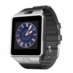 Pandaoo SW01 Bluetooth Smart Watch Penopang SIM Kartu GSM dengan Kamera untuk Android Samsung LG Sony (Hitam)