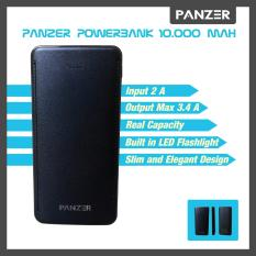 Jual Panzer Power Bank 10 000Mah Real Capacity Hitam Antik