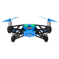 Jual Parrot Rolling Spider Bluetooth Robot Biru Lengkap