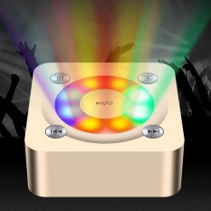 Party Light Super Bass Speaker-Dilake Z2 Hadiah Natal Stereo Nirkabel Bluetooth Sound Activated Berwarna LED Lampu Disko DJ Lampu untuk Festival Bar Club Party Karaoke Outdoor Android I Phone-Intl