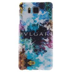 Pola Jelas TPU Gel Silikon Kembali Kulit Lembut Case untuk Samsung Galaxy Alpha G850 (Multicolor) (Intl)