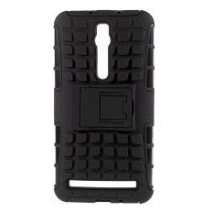 PC and TPU Hybrid Case for Asus Zenfone 2 ZE550ML ZE551ML (Black)