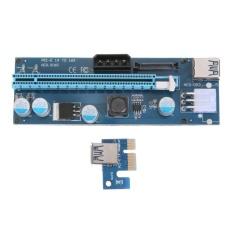 Harga Pci E 1X Untuk 16X Mining Enhanced Extender Riser Adaptor With 4 6 15Pin Port Original