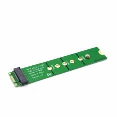 PCI-E 2 Lane M.2 B + M Key NGFF SSD Adaptor Ekstensi Pria Ke Wanita Tambahkan Pada Kartu-Intl