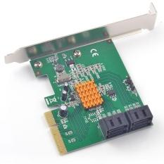 PCI-Express Hyperduo SATA 6G Kartu PCI-E Ke 2x SATA3.0 RAID 0,1 10 Kartu Marvell 8-Intl