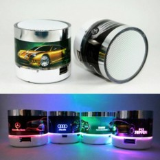 Speaker Mini mobil Portable Bluetooth Wireless With Superbass Stereo LED