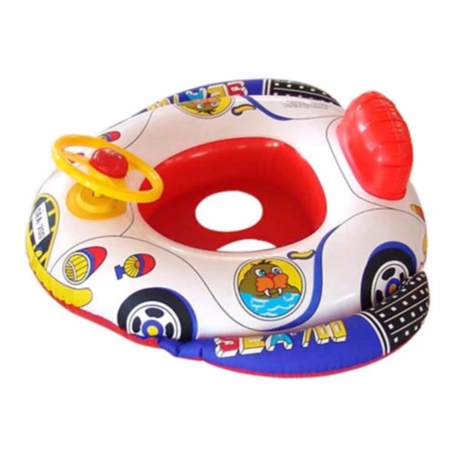 Harga Pelampung Renang Duduk Anak Bayi Baby Boat Setir Yg Bagus
