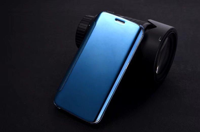 Pelepasan Elektroplate Smart Mirror Flip Cover Case Lg G5-Intl