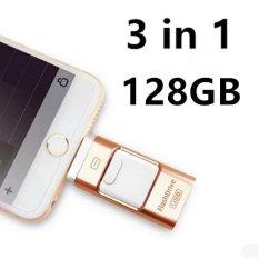 Review Toko Pen Drive Untuk Andorid Apple Iphone 6 S Usb Flash Drive 128 Gb Usb Stick Android 4 5 Otg Flashdisk U Disk 3 In 1 Memory Stick Usb 2 Emas Intl