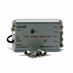 ... dB CATV SIGNAL AMPLIFIER TV TELEVISI BROADBAND 1 INPUT + 4 OUTPUT BOOSTER INDOOR ANTENA 2 WattIDR125000. Rp 126.500