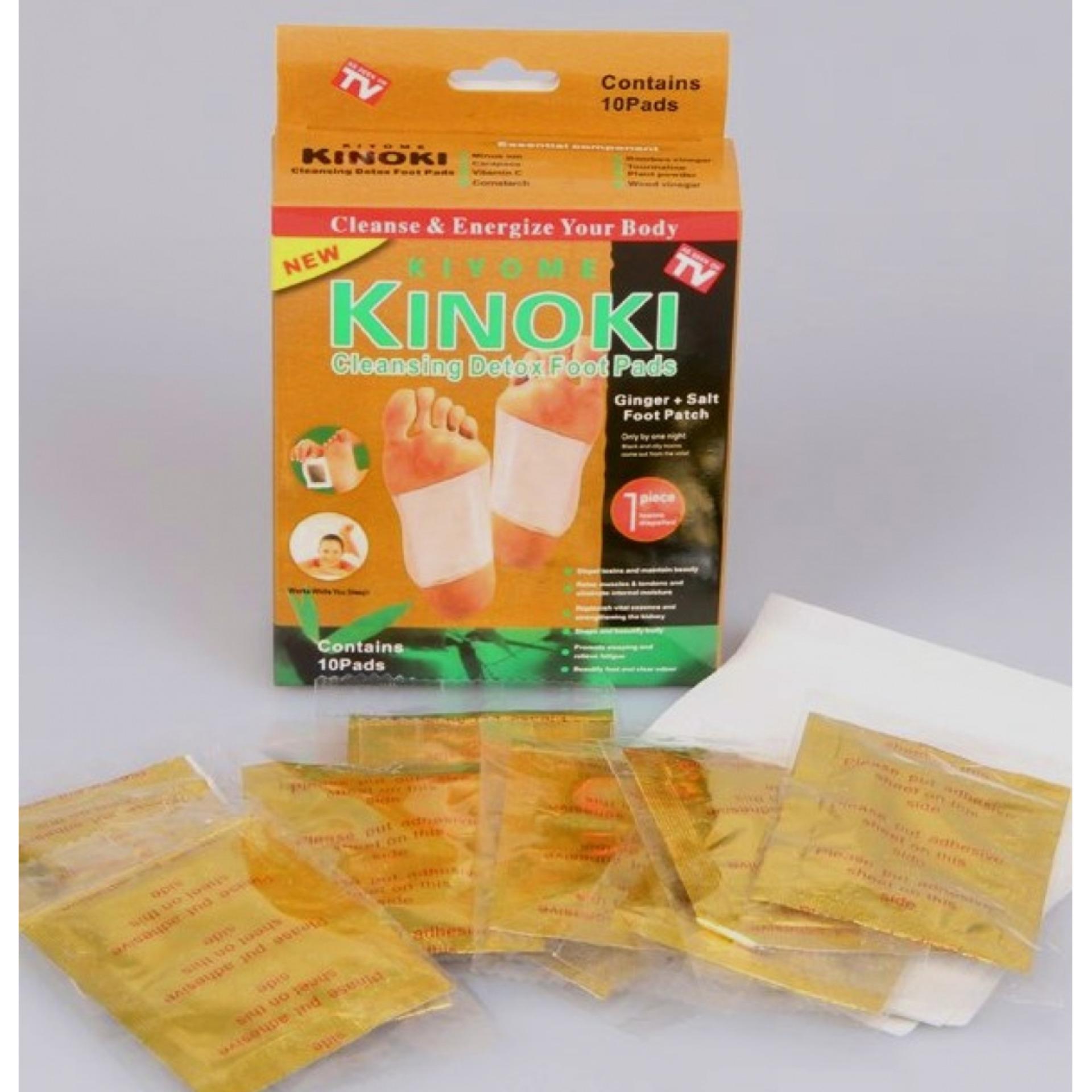 Spesifikasi Penyerap Racun Kinoki Gold 1 Set Isi 10 Pcs Merk Universal
