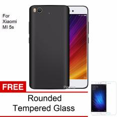 Beli Peonia Anti Fingerprint Premium Quality Grade A Ultraslim Hybrid Case For Xiaomi Mi 5S Hitam Rounded Tempered Glass Lengkap