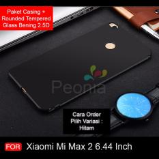 Rp 39.900. Peonia Anti Fingerprint Ultraslim Premium Quality Grade A Hybrid Case for Xiaomi MI MAX 2 6.44 Inch + Rounded Tempered Glass ...