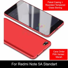 Daftar Harga Peonia Anti Fingerprint Premium Quality Grade A Ultraslim Hybrid Case For Xiaomi Redmi Note 5A Standard 5 5 Inch Rounded Tempered Glass Peonia