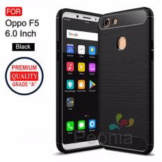Peonia Carbon Shockproof Hybrid Premium Quality Grade A Case for Oppo F5, F5 Youth, F5 Pro 6.0 Inch