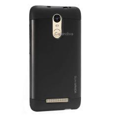 Peonia Hardcase Slim Armor untuk Xiaomi Redmi Note 3 / Prime / Pro versi Kenzo - Black