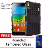 Spesifikasi Peonia Kickstand Robotic Case For Lenovo A7000 A7000 Special Edition Hitam Tempered Glass Merk Peonia