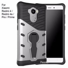 Peonia Sniper 360 Standing Rotary Slim Armor Case for Xiaomi Redmi 4 (standard, flash