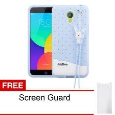 Jual Peonia Softcase Fabitoo Series For Meizu M2 Note Biru Gratis Screenguard Branded