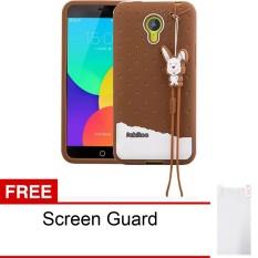 Peonia Softcase Fabitoo Series For Meizu M2 Note Cokelat Gratis Screenguard Jawa Barat Diskon